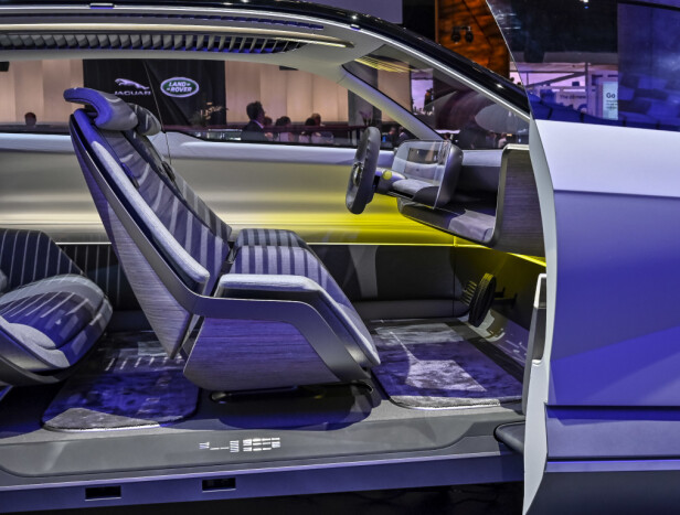 NYTENKNING: 45 er åpenbart en konseptbil enn så lenge. Det blir spennende å se hvordan produksjonsbilen blir. Både Hyundai og Kia har vent oss til å handle raskt. Foto: Jamieson Pothecary