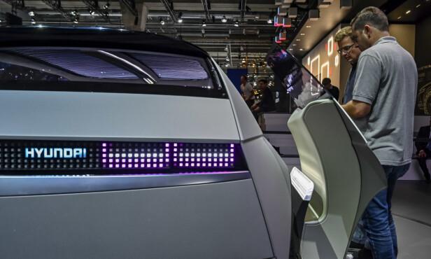 BRILJERER: Hyundai 45 på bilutstillingen i Frankfurt. Foto: Jamieson Pothecary