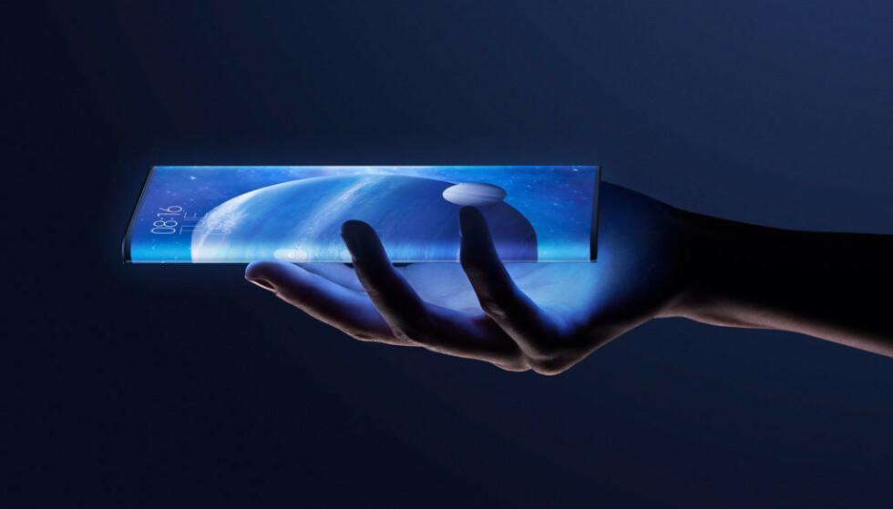SER STILIG UT: Mye skjerm ser stilig ut på bilder, men hvor praktisk det er, gjenstår å se. Foto: Xiaomi