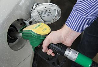 Nedgang i petroleumssalget