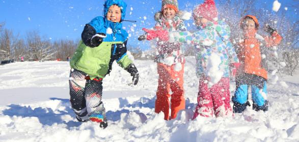 Vintersko for barn: To klare tapere