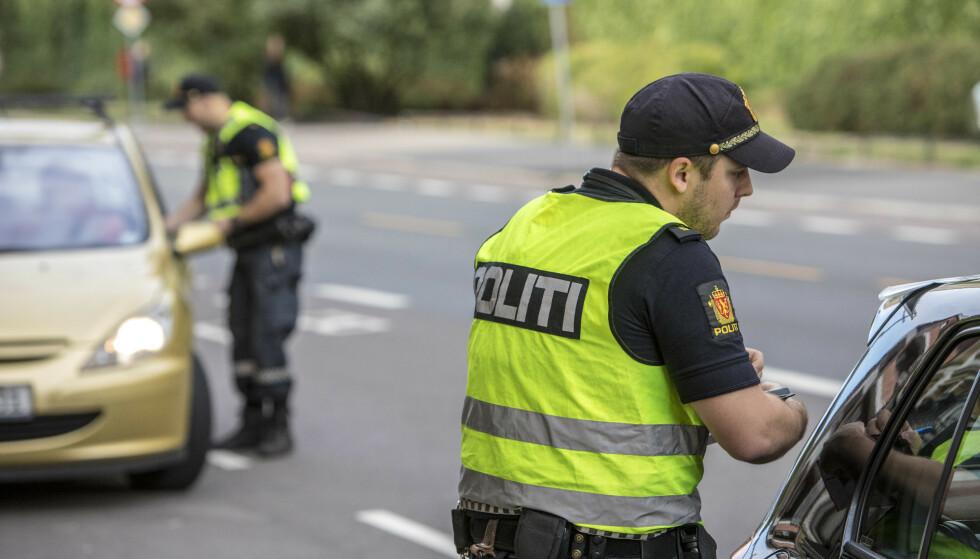 VIL HA NULL DREPTE: I dag har politi over hele Europa fokus på sikkerhet i trafikken. Det vil også gjenspeiles i form av kontroller. Foto: NTB / Scanpix