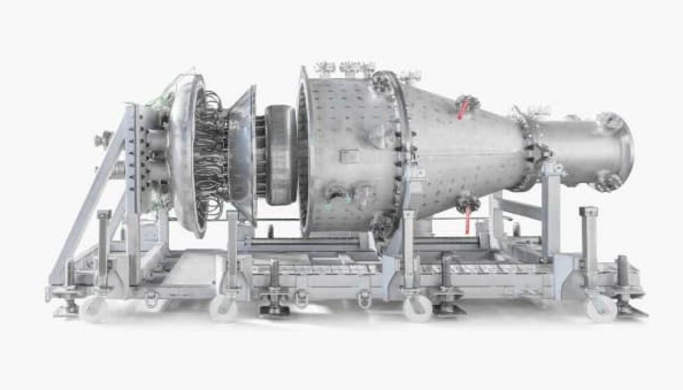 Reaction Engines har gjennomført suksessfulle tester med en «supercooler» som skal holde Sabre-motoren avkjølt. Foto: Reaction Eninges