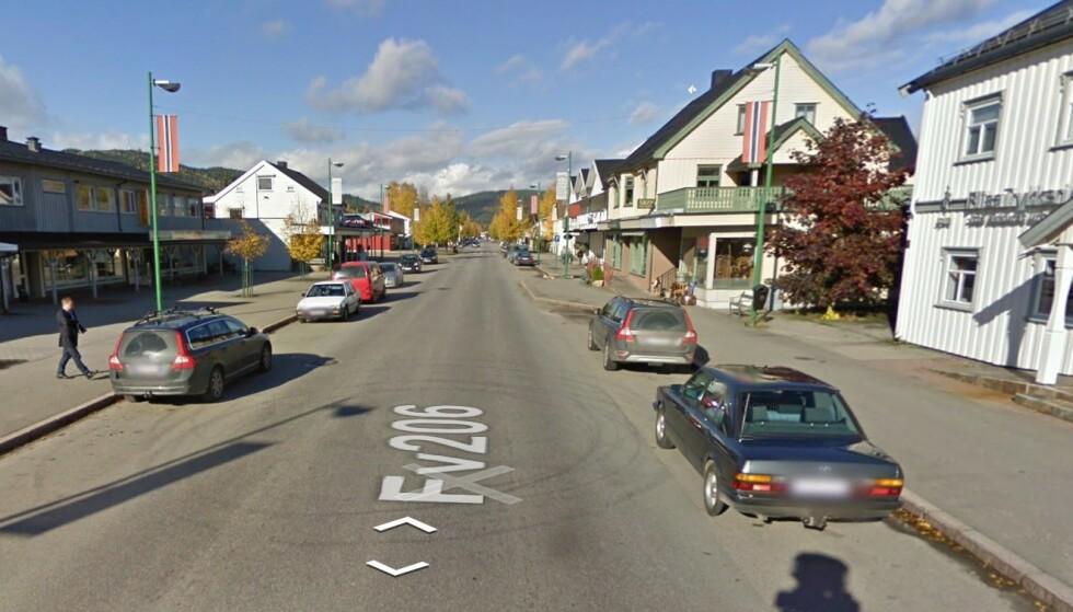 <strong>SINDIG I ÅSNES:</strong> I Åsnes kommune i Hedmark, der Flisa er sentrum, finner vi landets mest sindige og rolig sjåfører, ifølge tall fra forsikringsselskapet Fremtind som har logget kjørestilen til kundene sine over 200 millioner kjørte kilometer. Foto: Google Street View.