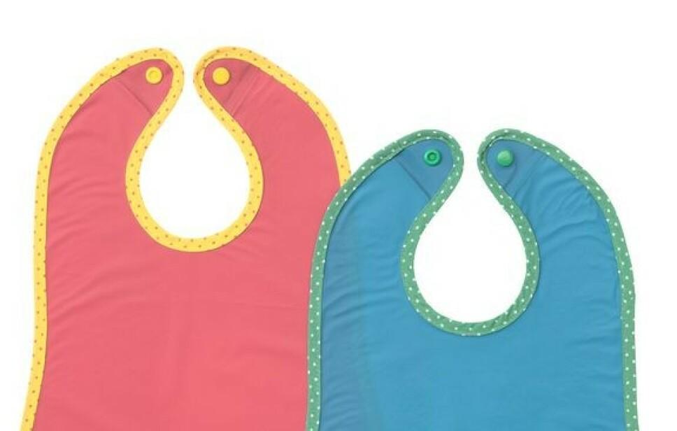 TILBAKEKALLES: Ikea ber nå kunder som har kjøpt disse barnesmekkene om å levere dem tilbake. Foto: Ikea