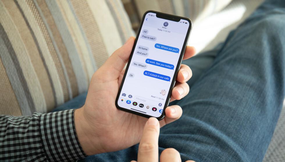 MESSENGER-TILGANG: Ved kjøp av ny telefon til dattera, fikk Geir Åkerland tilgang til en annen persons Messenger-konto. Illustrasjonsfoto: NTB Scanpix