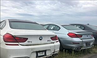 HVA SKJER? Bilene har stått på parkeringsplassen i fire og et halvt år. Det er vanskelig å si hva framtiden vil bringe. Foto: Litte Rascall's Racing / Instagram