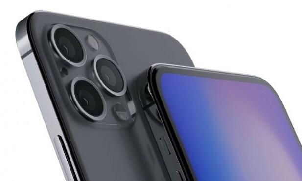 RETTE KANTER: Dersom Apple velger å basere seg på iPhone 4-designet, kan det tenkes at rammen vil bli noe a la konseptskissen over. Foto: Ben Geskin