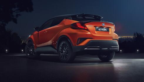 SEG SELV LIK: Til tross for flere endringer i det utvendige designet er C-RV meget gjenkjennbar. Foto: Toyota