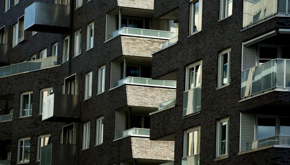 NEDGANG: Etter to år med moderat prisvekst, faller boligprisene i årets tredje kvartal. Foto: Vegard Wivestad Grøtt/NTB scanpix.