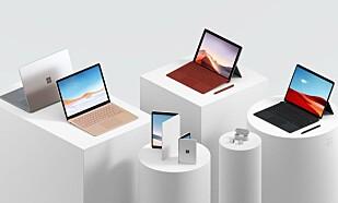 Her er Surface-mobilen ... med Android