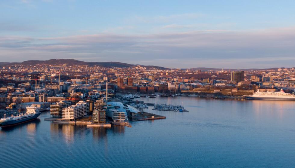 STERKEST: Oslo hadde sterkest 12-måneders vekst med 4,7 prosent, ifølge Eiendom Norges september-tall. Foto: Shutterstock/NTB Scanpix.