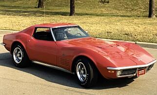 1968-MODELL: Chevrolet Corvette C3. Foto: Chevrolet