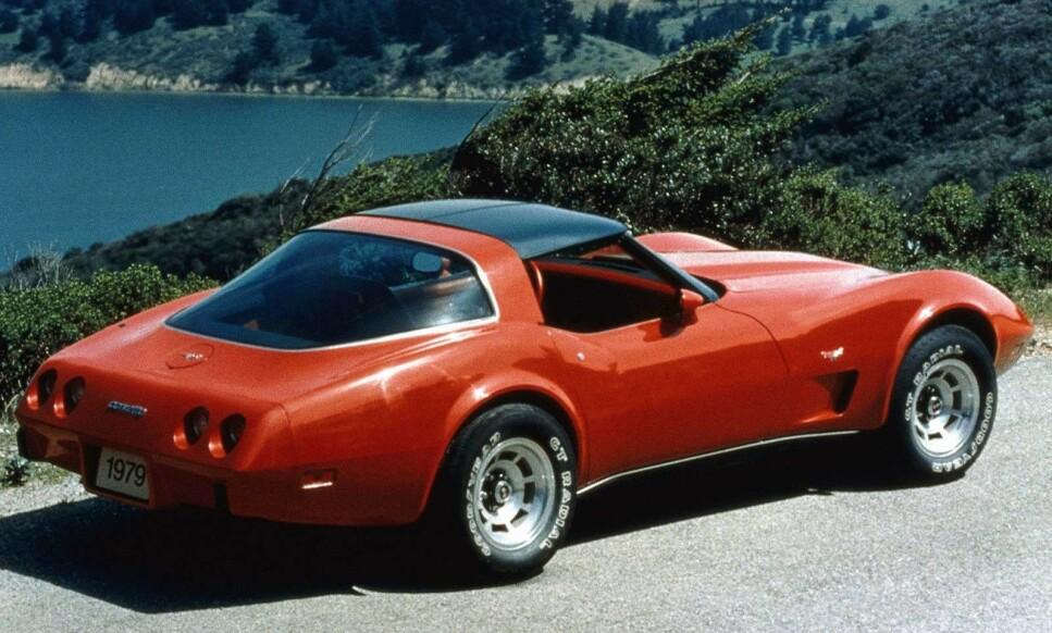 POPULÆR IMPORTBIL: Flere nordmenn har begynt å bruktimportere Chevrolet Corvette til Norge. Den er plutselig å finne på topp ti-lista her til lands. Foto: Chevrolet