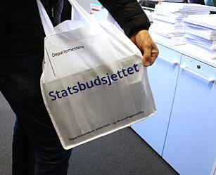 image: Regjeringen legger frem statsbudsjettet for 2020