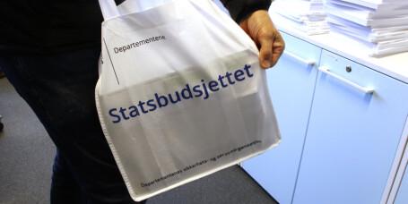 Regjeringen legger frem statsbudsjettet for 2020