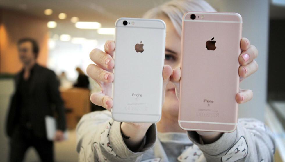 DRAR PÅ ÅRENE: iPhone 6s debuterte september 2015. Foto: Ole Petter Baugerød Stokke