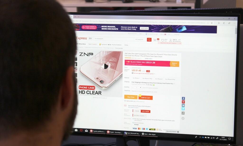 KRITIKK: Forslaget om å innføre et tollfritak på opptil 3.000 kroner er tidligere møtt av sterk kritikk fra handelsbransjen.