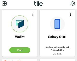 image: Finn alle tingene dine med Tile