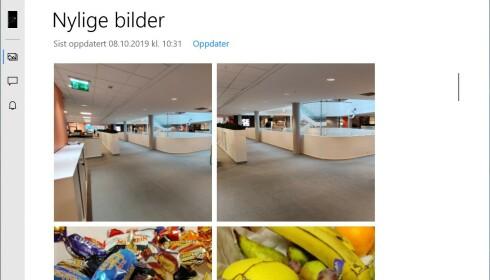 NYLIGE BILDER: Du kan enkelt flytte bilder fra mobil til PC gjennom Din mobil.
