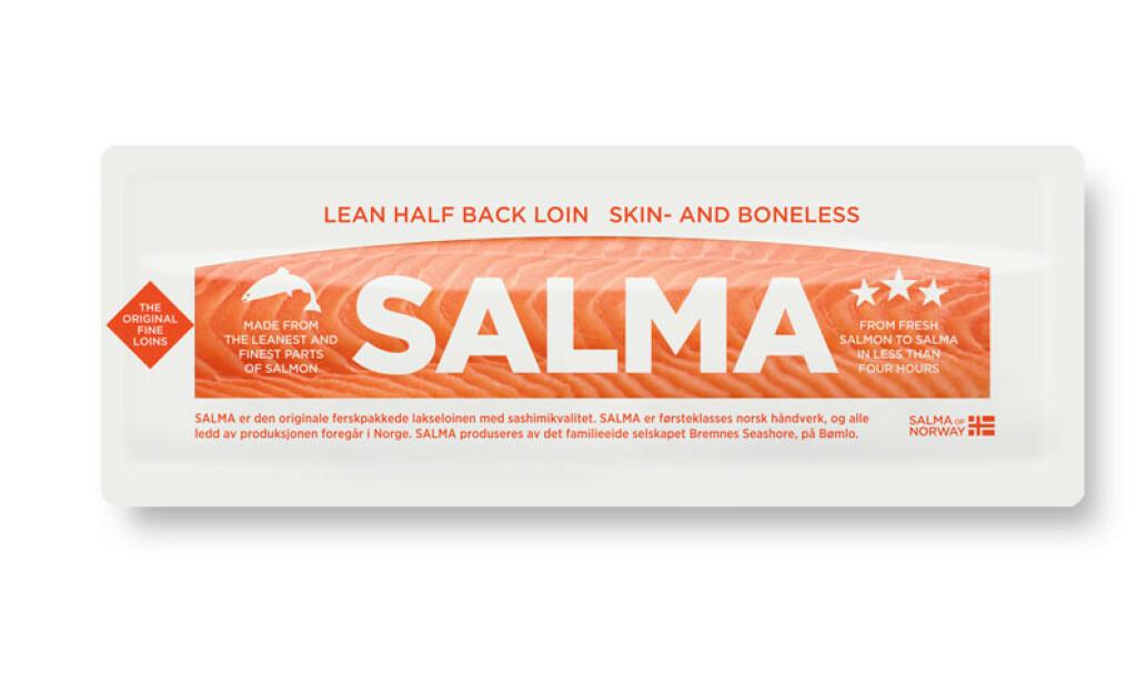 BAKTERIEFUNN: Det er påvist spor av bakterien listeria monocytogenes på enn SALMA halvloin med slaktedato 3. oktober 2019. Alle SALMA-produkt knytta til denne slakte/pakkedagen tilbakekalles. Du kan få pengene tilbake om du leverer produktet tilbake til butikken. Foto: Salma