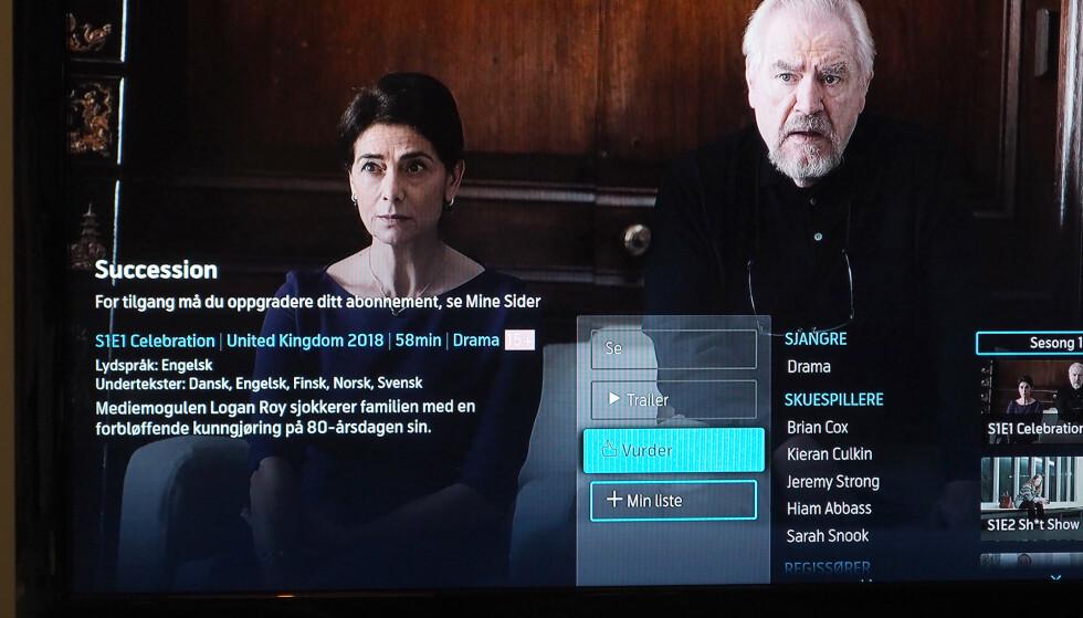 INKLUDER STRØMMETJENESTEN: Nå får Telenor-kunder også muligheten til å inkludere strømmetjenester som HBO Nordic i abonnementet sitt. Foto: Kirsti Østvang