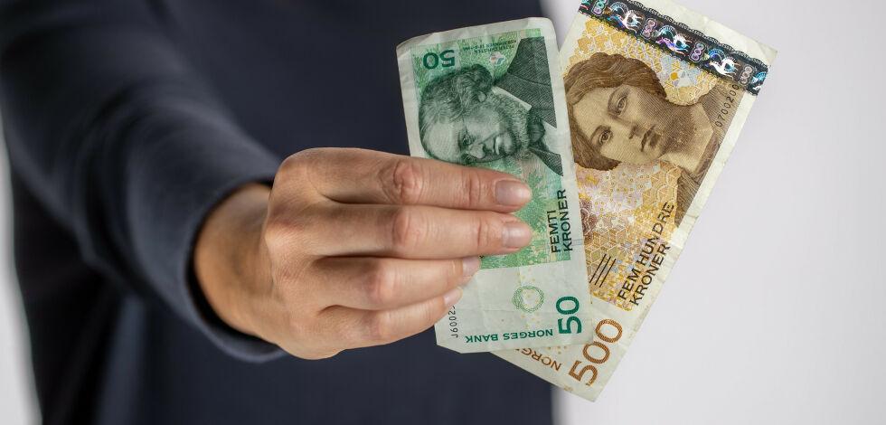 image: Vi har 4,3 milliarder kroner i snart ugyldige sedler