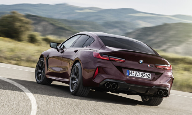 HEFTIG HEKK: Dette bildet gir oss lyst til å prøvekjøre dette monsteret av en luksusbil så snart som mulig! Foto: BMW