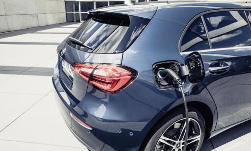 POTENSIALE: Vi tror prisen på A 250 e er konkurransedyktig. Foto: Daimler AG