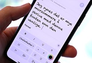 Slik bytter du font på iPhone