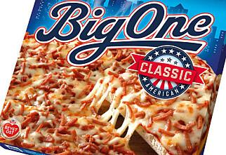Pizza med plast tilbakekalles