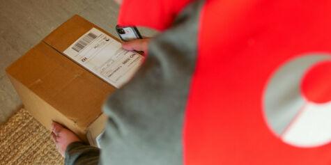 image: Posten leverer innenfor døren når du ikke er hjemme