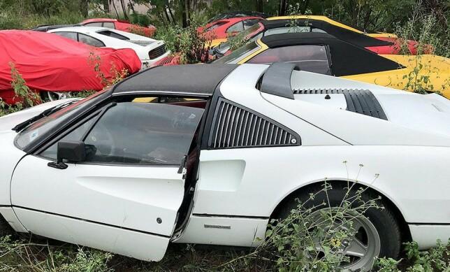 TI MILLIONER: Eksperter har beregnet verdien av bilene til én million dollar. Det tilsvarer mye mer på det norske markedet. Foto: Paul Cox