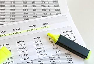 Lånet blir flere hundre tusen billigere ved raskere nedbetaling