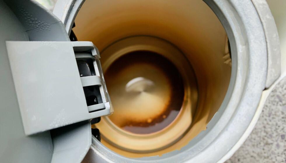 KAMP MOT KALK: Kalkbelegg i vannkokeren? Vi har løsningen. Foto: Berit B. Njarga