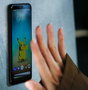 UTEN BERØRING: Googles «motion sense» lar deg gjøre bevegelser foran telefonen for å utføre kommandoer. Foto: Eduardo Munoz / Reuters / NTB Scanpix