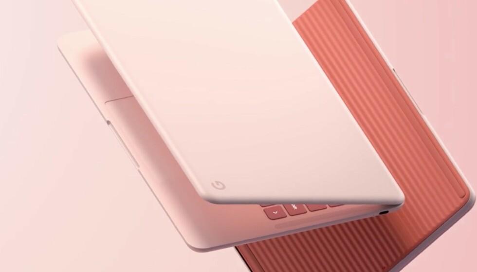 RUGLETE UNDER: Pixelbook Go har en ganske utradisjonell underside som skal gjøre det vanskeligere å miste den. Foto: Google