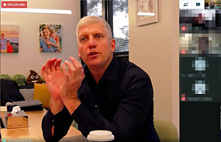 Sjef for Googles maskinvareavdeling, Rick Osterloh, måtte dessverre skuffe oss med at Pixel-telefonene nok en gang ikke kommer til Norge. Skjermbilde: Pål Joakim Pollen
