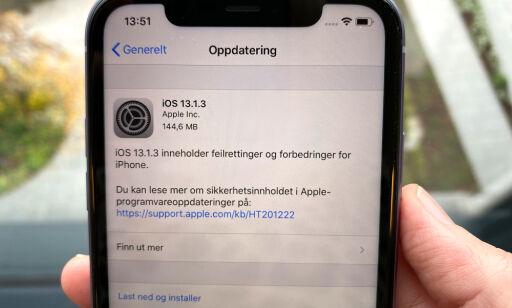 image: Har iOS13 et bug-problem?