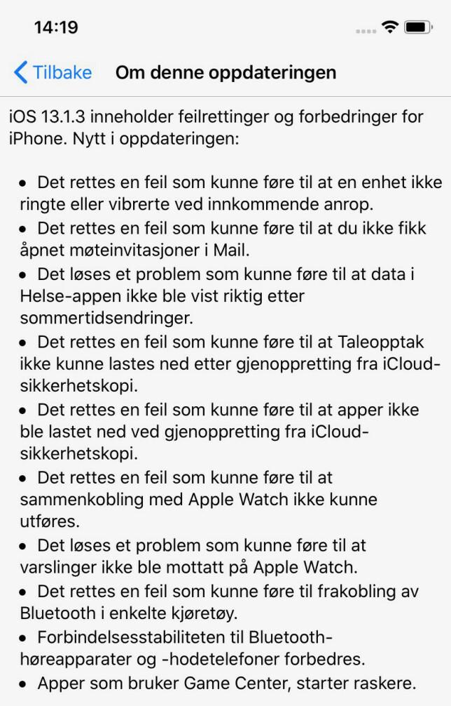 image: Nå må du oppdatere iPhone - igjen