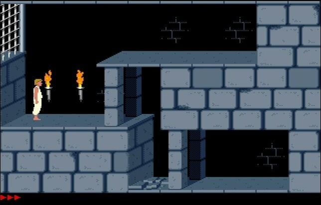Prince of Persia er én av over 6.000 gamle MS-DOS-titler du kan spille direkte i nettleseren hos archive.org.