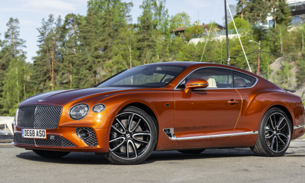<strong>BENTLEY CONTINENTAL GT:</strong> Pris fra: 2.900.000,-   Foto: Jamieson Pothecary