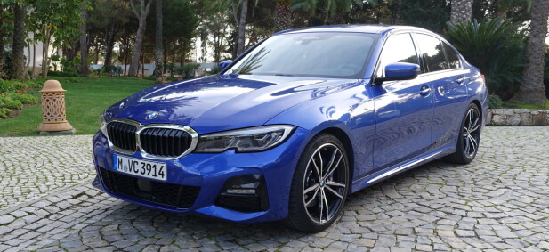 BMW 3-SERIE: Pris fra 457.400 kroner. Foto: Knut Moberg