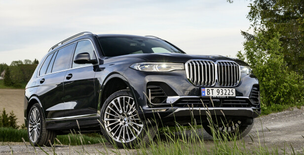 BMW X7: Pris fra 1.285.000 kroner. Foto: Jamieson Pothecary