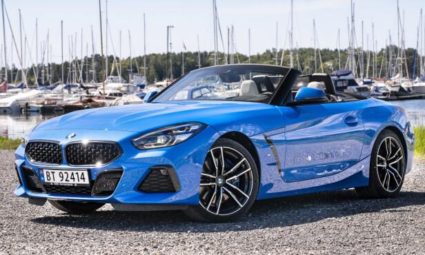 BMW Z4: Pris fra 589.400 kroner. Foto: Jamieson Pothecary