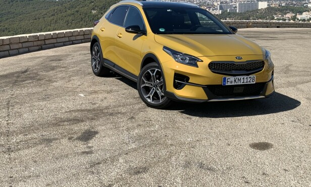 <strong>KIA XCEED:</strong> Pris fra 289.900 kroner. Foto: Knut Moberg