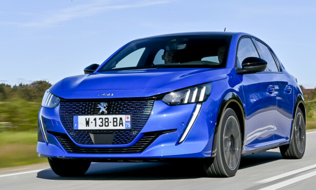 <strong>PEUGEOT 208:</strong> Pris fra 249.850 kroner. Foto: Jamieson Pothecary