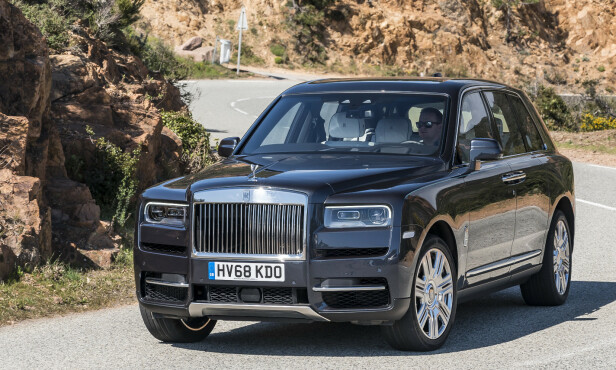 <strong>ROLLS-ROYCE CULLINAN:</strong> Pris fra 5.500.000 kroner. Foto: Jamieson Pothecary