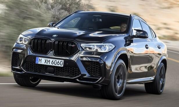 BMW X6: Pris fra 1.047.800 kroner. Foto: BMW