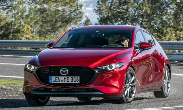 MAZDA 3: Pris fra 290.800 kroner Foto: Mazda